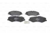 LR051626 Bosch 0986494408 Brake Pad Set of 4